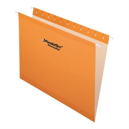 Dossiers suspendus Reversaflex® Format lettre orange