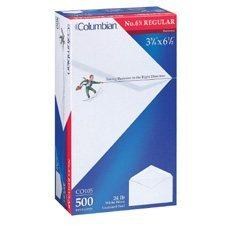 X-Back White Envelope