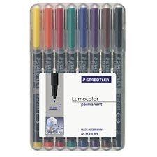 Marqueur permanent Lumocolor® Pointe Fine. 0,6 mm Paquet de 8 couleurs variées