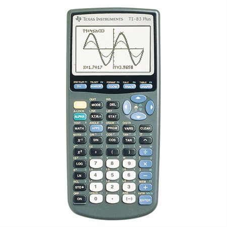 Calculatrice graphique TI-83 Plus