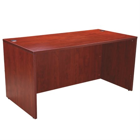"Bureau simple 66 x 30"" cerisier"