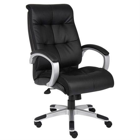 High-Back Executive Leather Armchair