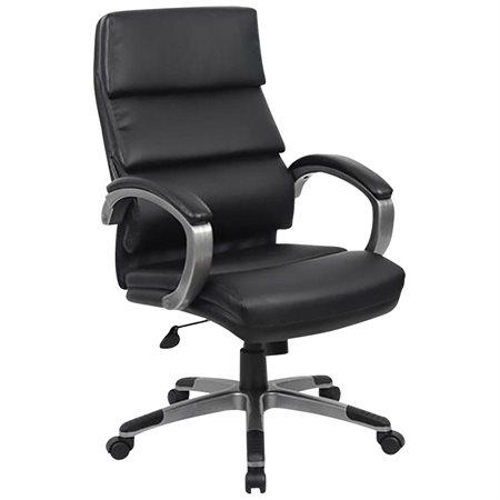 Executive Leather High Back Armchair