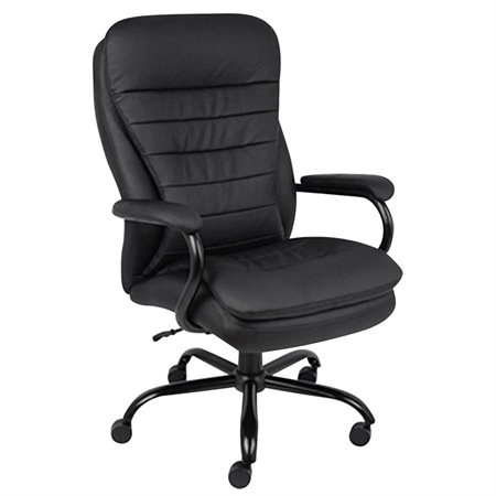 Heavy-Duty Pillow-Top High-Back Executive Armchair
