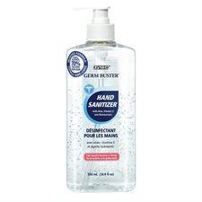 Gel désinfectant pour les mains Germ Buster Pompe distributrice 550 ml