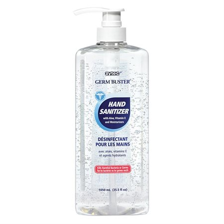 Germ Buster Hand Sanitizer Gel Pump 1050 ml