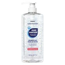 Gel désinfectant pour les mains Germ Buster Pompe distributrice 1030 ml
