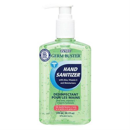 Gel désinfectant pour les mains avec aloès vert Germ Buster