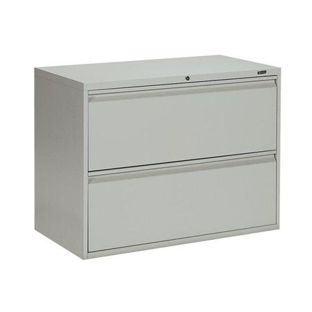 "Classeur latéral série MVL1900 2 tiroirs – 27,31""H gris"