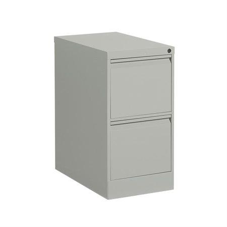 """Classeur vertical format lettre série MVL25 2 tiroirs, 29""""H gris"""