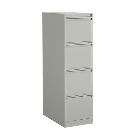 """Classeur vertical format lettre série MVL25 4 tiroirs, 52""""H gris"""