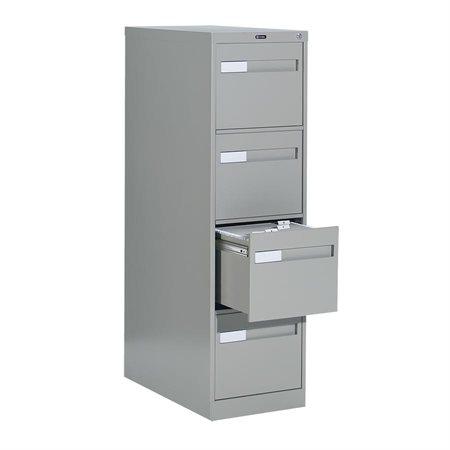 """Classeurs verticaux format lettre Fileworks® 2600 Plus 4 tiroirs, 52""""H gris"""