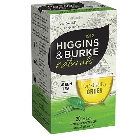 Thé Higgins & Burke Boîte de 20 sachets thé vert