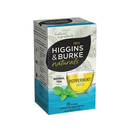 Thé Higgins & Burke Boîte de 20 sachets menthe poivrée
