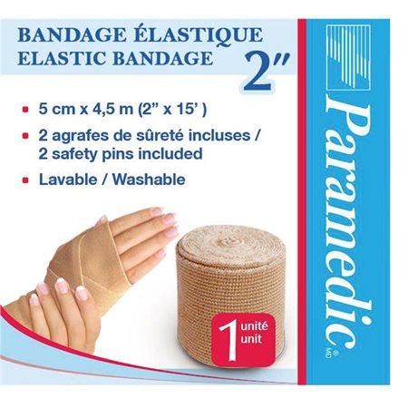 "Bandage élastique 2"" x 15 pi."