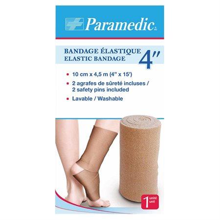 "Bandage élastique 4"" x 15 pi."