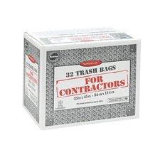 """Supersak® Contractor Garbage Bags 2.2 mil, 33"""" x 45"""" (32)"""