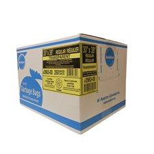 "2900 Series Ultra Industrial Garbage Bags Regular, 30 x 38"". Box of 250. clear"