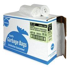 """2800 Series High Density Industrial Garbage Bags Regular, 13 mic, 36"""" x 50"""" (250)"""