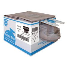 """Biosak® 2100 Series Biodegradable and Compostable Garbage Bags Strong, 26 x 36"""" Box of 150."""
