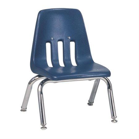 """Chaise empilable à 4 pieds Séries 9000 Marine 10"""""""
