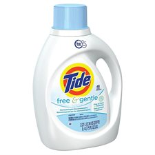 Détergent à lessive liquide Tide® HE Free & Gentle