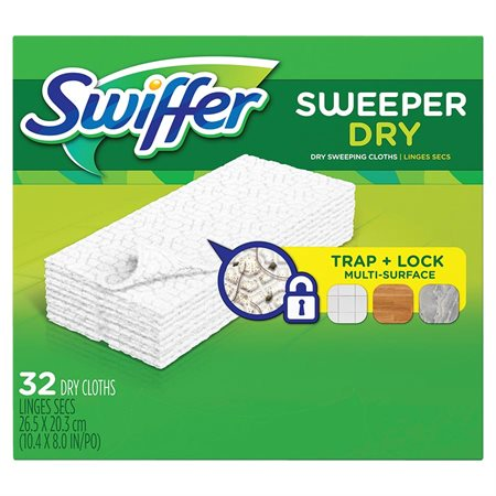 Recharge de linges secs Swiffer Sweeper