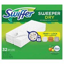 Swiffer Sweeper Dry Sweeping Refill Citrus & light box 32