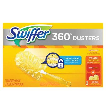Ensemble de départ de plumeaux Swiffer® 360°
