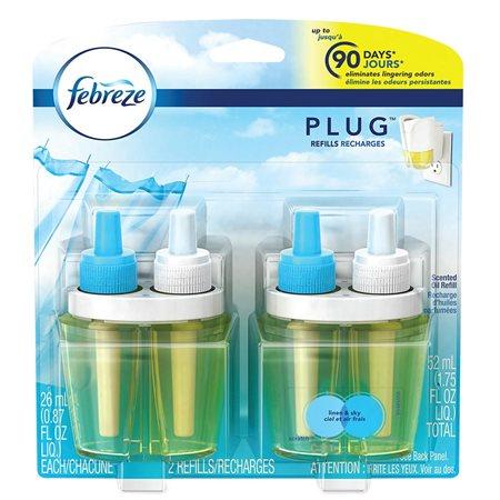 Chauffe-huile pour huile parfumée NOTABLES Recharge ciel et air frais (2)