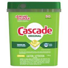 Détergent lave-vaiselle Cascade 2-in-1 Action Pacs® Paquet de 90 citron