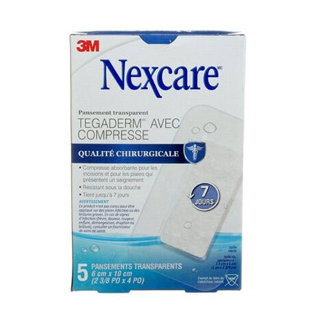 Nexcare™ Tegaderm™ +Pad Waterproof Transparent Dressing