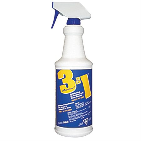 3 in 1 Disinfecting All-Purpose and Glass Cleaner