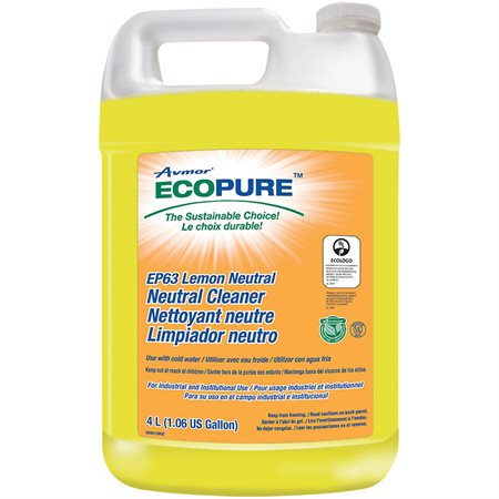 Ecopure® EP63 Lemon Neutral Cleaner