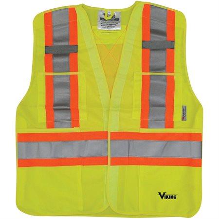 Veste de sécurité à cinq points Lime G-XG