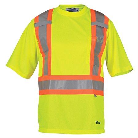T-shirt de sécurité Journeyman Lime XG