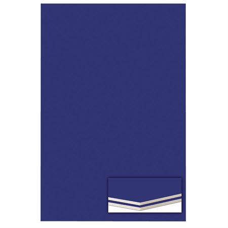 Carton mousse 3 / 16 po. bleu