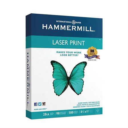 Papier Laser Print 28 lb. Paquet de 500. lettre