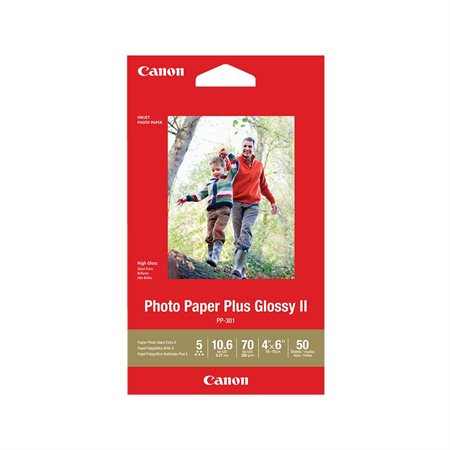 Papier photo Photo Paper Plus Glossy II 4 x 6""