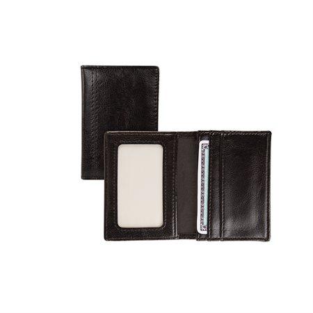 Porte-cartes professionnelles en cuir