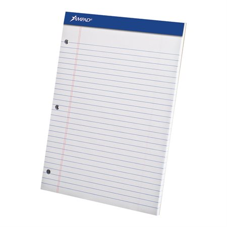 White Perforated Paper Pad