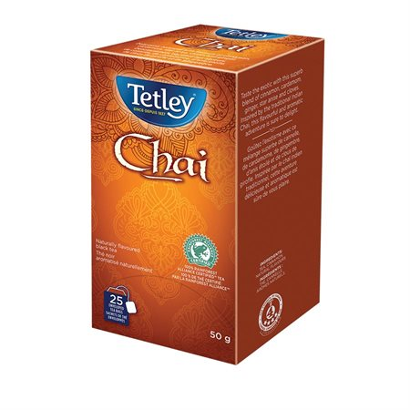 Sachets de thé Tetley Chaï (20)