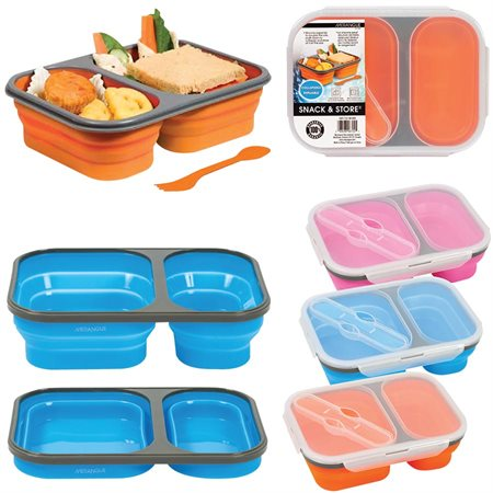 Snack & Store Food Container