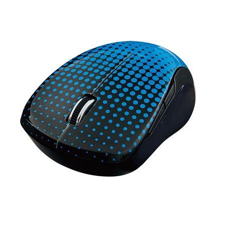 Souris optique sans fil Multi-Trac bleu