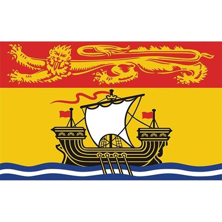 Drapeaux des provinces et territoires canadiens Nouveau-Brunswick