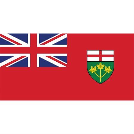 Drapeaux des provinces et territoires canadiens Ontario