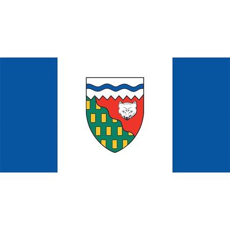 Drapeaux des provinces et territoires canadiens Territoires du nord-ouest