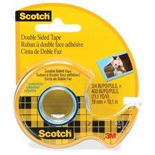 Ruban adhésif double face Scotch® Amovible 19 mm x 10,1 m