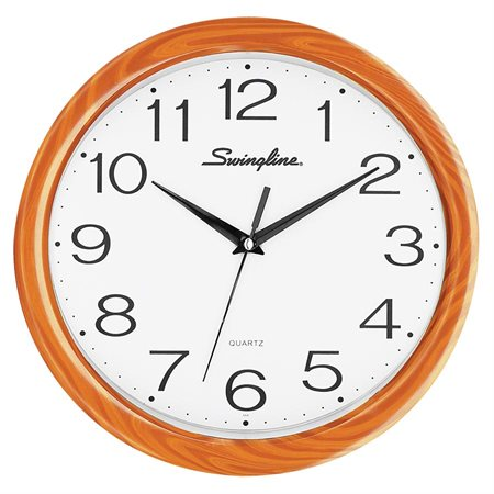 Wall Clock wood finish