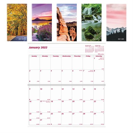 Monthly Pocket Planner (2022-2023)